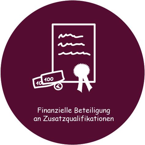 Ausbildung bei Connex: Finanzielle Beteiligung an Zusatzqualifikationen